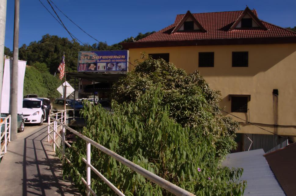 dangdiren cameron highlands kuala terla restaurant sri saravanan