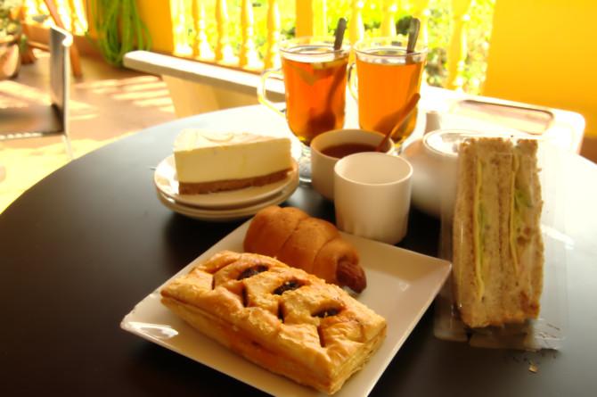 dangdiren cameron valley tea plantation kuala terla tea
